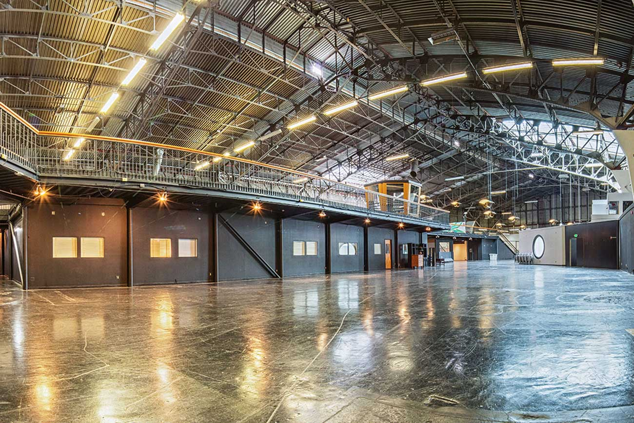 large space for events and conferences